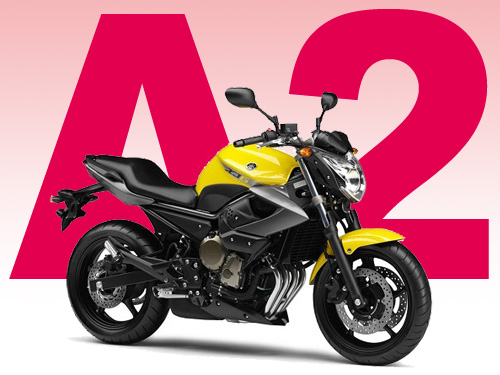 Le permis de conduire moto A2